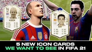 FIFA Icons We'd Love to See in FIFA 21