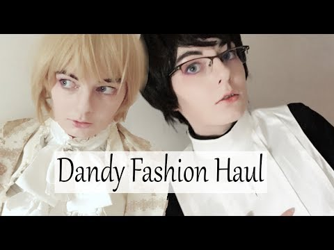 Dandy/Ouji Fashion Haul