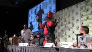SDCC 2012: Deadpool crashes the Marvel Games panel to announce his own game