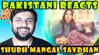 Pakistani Reacts to Shubh Mangal Saavdhan Indian Movie Trailer