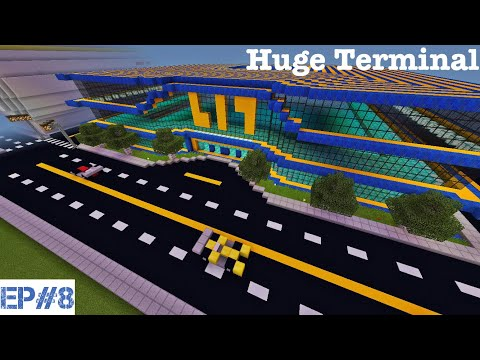 Airport Builds   #8   Huge Terminal