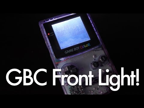 Install a Game Boy Color Front Light Kit!