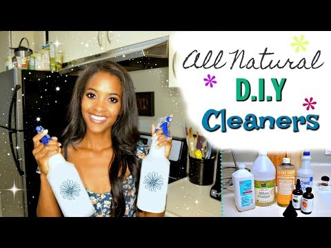 DIY Natural Cleaning Products! | Non Toxic Cleaners