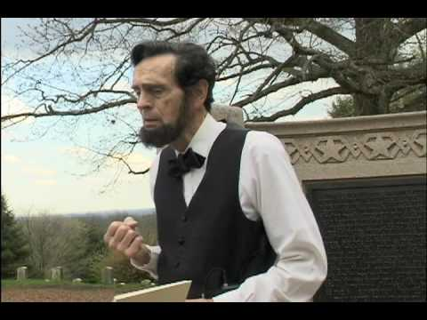 Abraham Lincoln, Gettysburg Address by John Mansfield