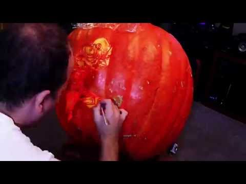 Timelapse of my 2016 Pumpkin carving