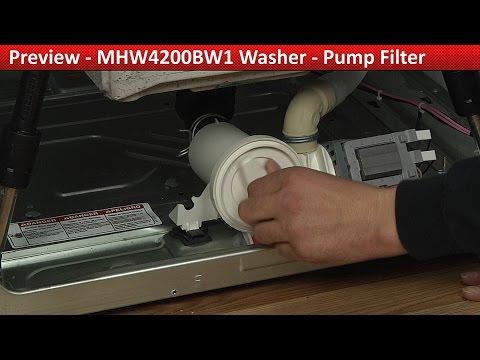 Maytag, whirlpool & Kenmore  Washer Pump Filter - Diagnostic & Repair