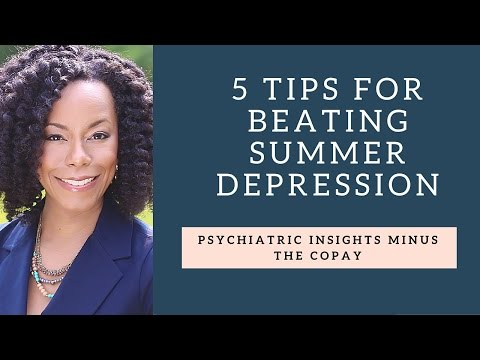 5 Tips for Beating Summer Depression