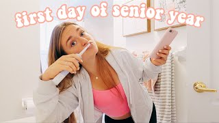 first day of senior year grwm (let's do this for the last time)