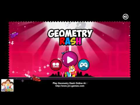 [5 Star] Geometry Dash Online Game Walkthrough 2017 - Addictive Game