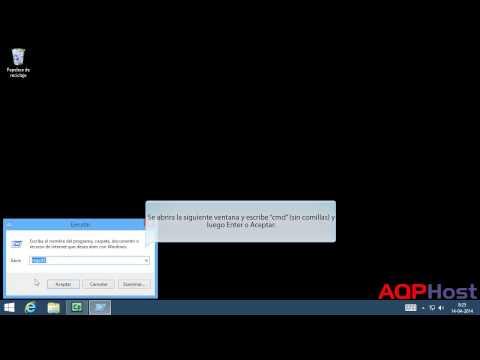 Eliminar la cache DNS en Windows 8 1