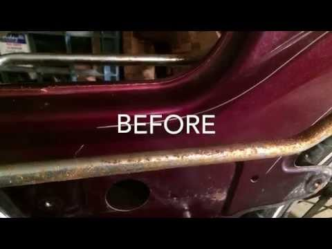Cleaning Rust From Chrome With WD40 And Steel Wool