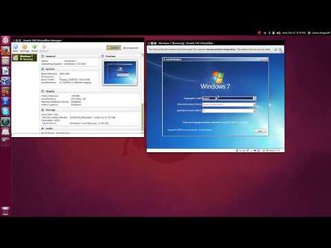 Run Windows in VirtualBox on Ubuntu 14.04 and 14.10