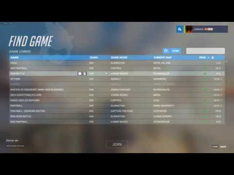 How To: Open Server Browser in Overwatch [PC]