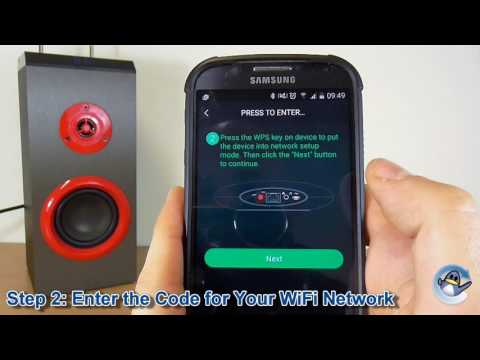 How to Connect a WiFi Speaker Using Muzo Player App