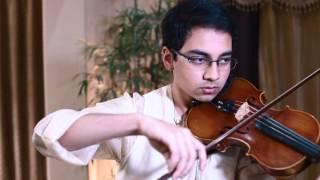 Amaar Shonar Bangla - Bangladesh National Anthem in violin