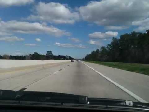 Timelapse: Driving from Houston to New Orleans