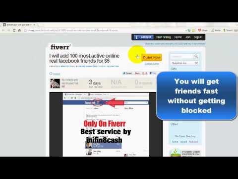 How to create new Facebook and add/get Friends fast - Fast Friends Adder