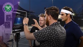 Wimbledon 2017 - Behind the scenes with Roger Federer