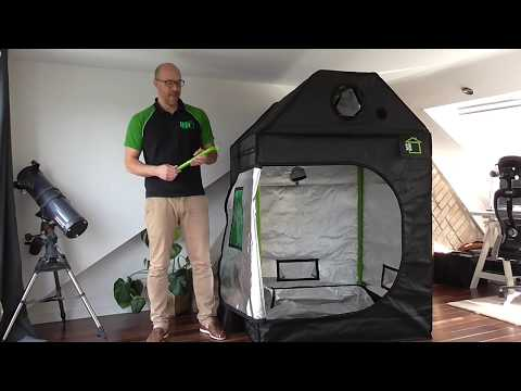 Getting to Know the Roof-Qube Grow Tent
