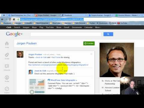 How To Link To A Post on Google Plus or Facebook
