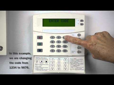 ProTec Home Security Systems | Changing the Master Code on a GE/Interlogix Home Security System
