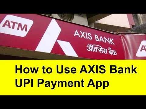 How to use Axis Bank UPI Payment App | Tamil banking