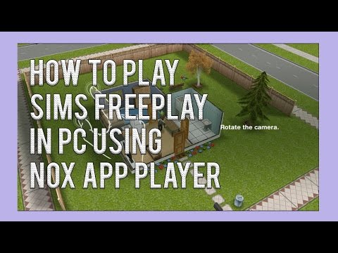 How to play Sims Freeplay in PC | using NOX App Player