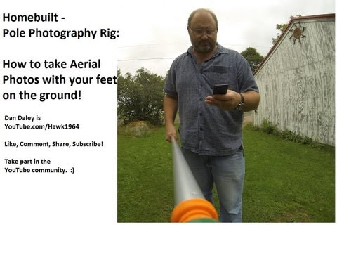 Aerial Photography Mast for under $20 - Extends to 12' Feet by pcfunfactory