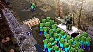 SCARY STADIUM SURVIVAL! - Minecraft Zombie Apocalypse #4