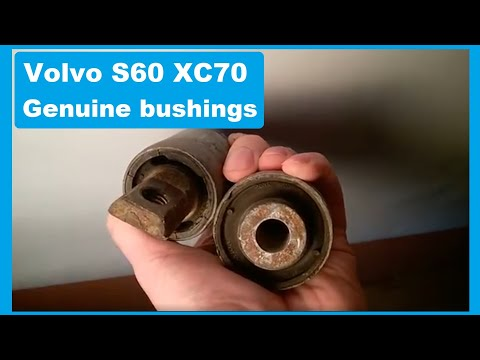 Which control arm bushings to buy for Volvo S60  (for alloy control arms 2001-2006)