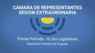 Sesión extraordinaria, miércoles 3, a la hora 15,, TV CÁMARA DE REPRESENTANTES