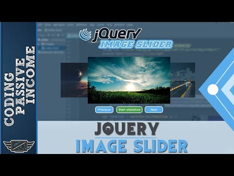 jQuery Image Slider Tutorial With Slideshow Functionality