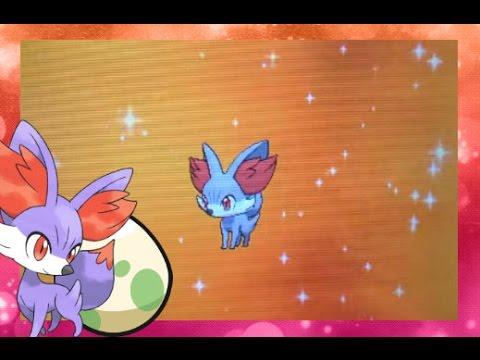 Live Hatch!!! Shiny Fennekin After 80 Eggs!! Via Masuda Method - Pokemon Y
