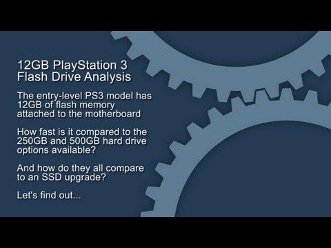 12GB PS3 Install Testing vs. 250GB/500GB/SSD