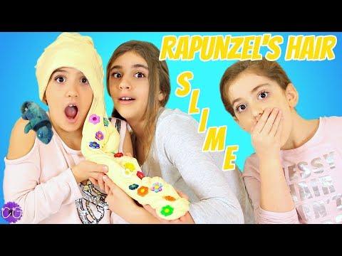 Rapunzel's Hair Slime - Disney Princess Slime!