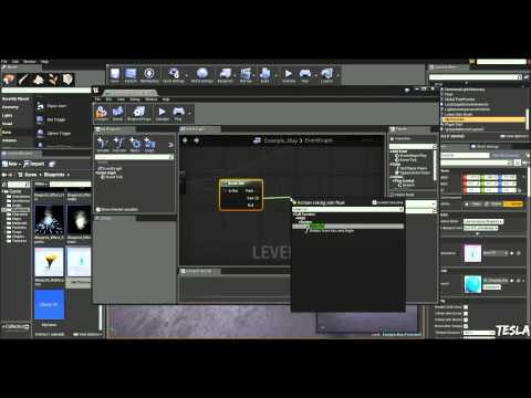 Unreal Engine 4 Tutorial - Actor look/face at player
