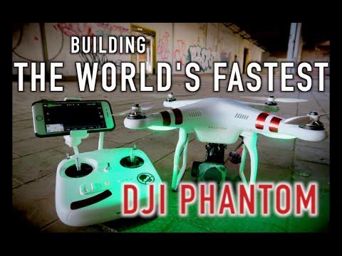 Building The WORLD'S FASTEST DJI PHANTOM