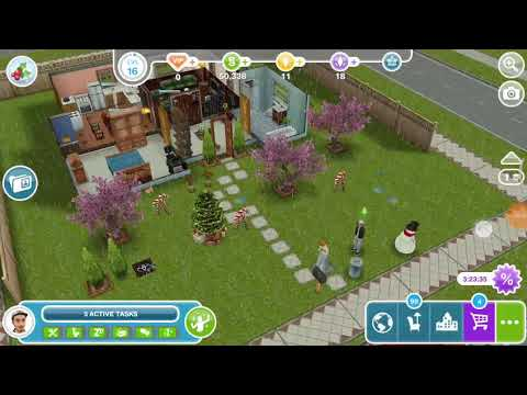Spot the overgrown stables - the Sims freeplay 😻