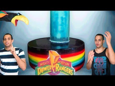 Bolo Arco-Íris dos Power Rangers - Ep51 feat. Bocó Reporter