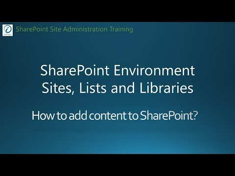 SharePoint 2016 Tutorial - Create Sites, Lists and Libraries