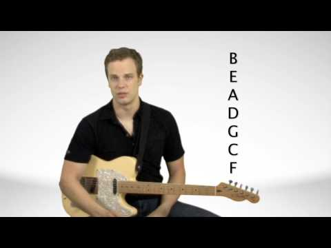 How Guitar Key Signatures Work - Guitar Lesson
