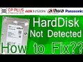 Hard Disk not detected in cp plus dvr #1 2018 (Hindi) | dahua dvr | hikvision dvr