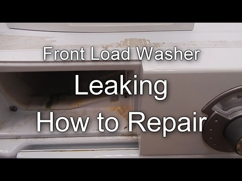 Front Load Washer Leaking - Simple How to Repair