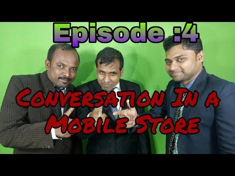 Spoken English Conversation Lesson || Mobile Store || Basic English Grammar Videos in Odia
