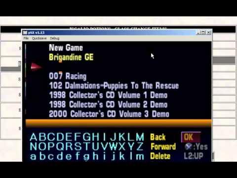 Gameshark Codebreaker on PSX Emulator