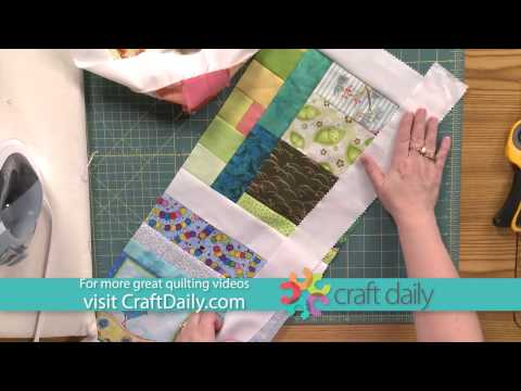 Make a Fast, Modern and Scrappy Baby Quilt