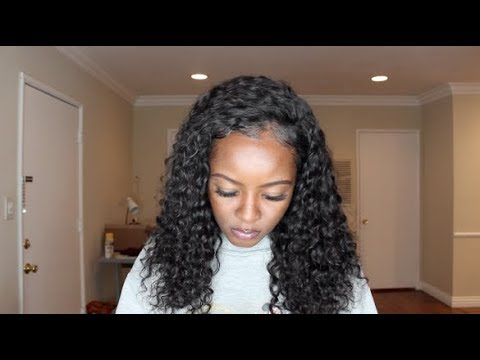 THIS HAIR IS SO BOUNCY!!! Brazilian Deep Wave | Eullair Hair Review