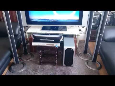 Lg LH-T500 home cinema surround sound system.