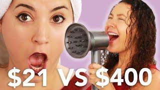 $21 Vs. $400 Blow Dryer