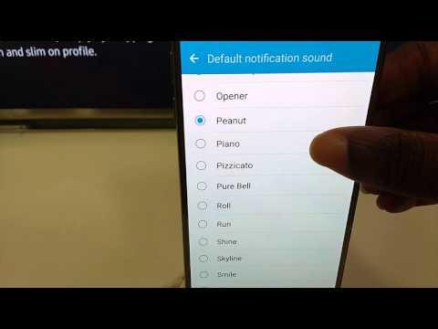 Samsung Galaxy S7 Notification Tones
